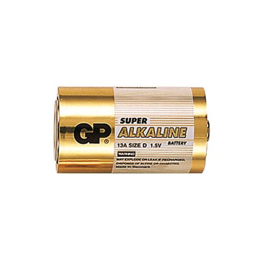 Батарейка бытовая стандартных типоразмеров GP 13A-BC2 (фото, вид 1)