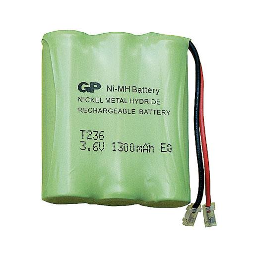 Аккумулятор для радиотелефонов GP T236-BC1 (фото, вид 1)