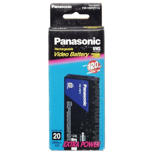 Аккумулятор для фото и видеокамер Батарея акк.для в/кам. Panasonic VW-VBF2T/1H (фото, вид 1)