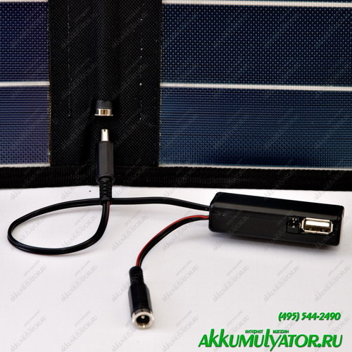 Зарядное устройство SC11ST Универсальное автономное солнечное зарядное устройство (фото, вид 1)
