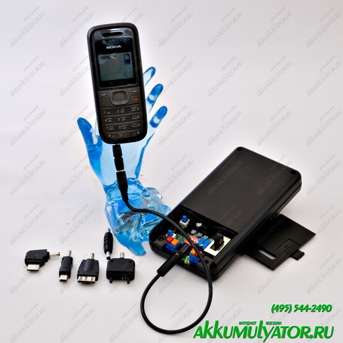 Аккумулятор универсальный внешний МРВ Цифра (фото, вид 1)