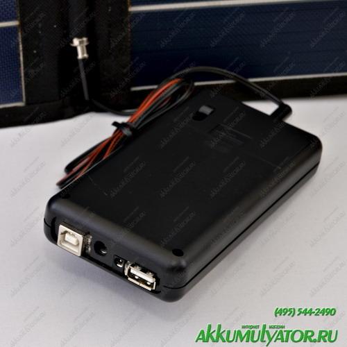 Зарядное устройство SC8МРВ Универсальное автономное солнечное зарядное устройство (фото, вид 1)