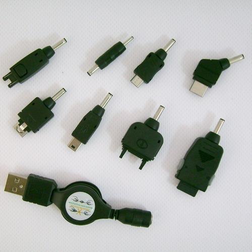 Комплект переходников для сотовых телефонов USB-KIT-002 (фото, вид 1)