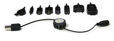 Комплект переходников для сотовых телефонов USB-KIT-002 (фото, вид 2)