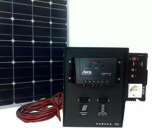 Солнечная энергосистема КАВКАЗ (фото, вид 1)