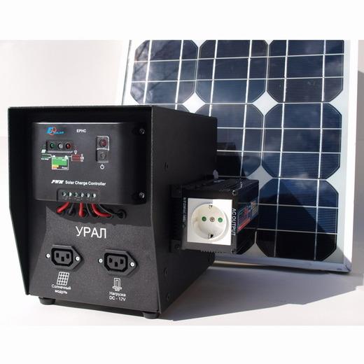 Солнечная энергосистема УРАЛ (фото, вид 1)