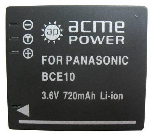 Аккумулятор для фото и видеокамер AcmePower AP-BCE10 (фото, вид 1)