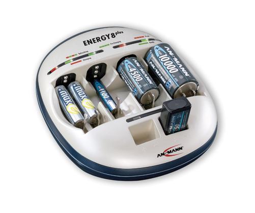 Зарядное устройство Зарядное устройство ANSMANN ENERGY 8 plus 5207442 BL1 (фото, вид 1)