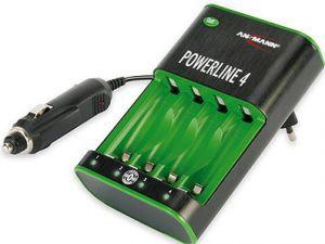 Зарядное устройство Зарядное устройство ANSMANN POWERline 4-W-EU 5107553 BL1 (фото, вид 1)