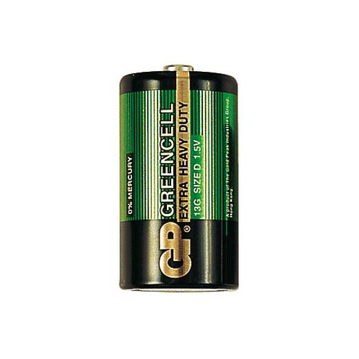 Батарейка бытовая стандартных типоразмеров GP 13G-OS2 (фото, вид 1)