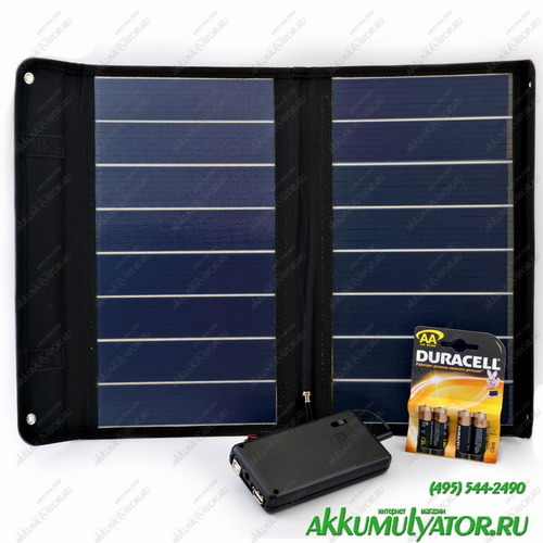 Зарядное устройство SC8МРВ Универсальное автономное солнечное зарядное устройство (фото)