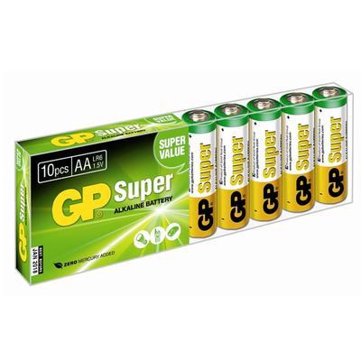 Батарейка бытовая стандартных типоразмеров GP 15A-B10