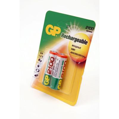 Аккумулятор бытовой GP 210AAHC-BL2 HR6 BL2