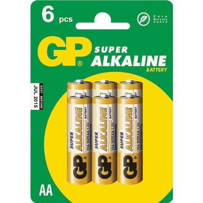 Батарейка бытовая стандартных типоразмеров GP 15A-CR6