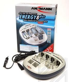 Зарядное устройство Зарядное устройство ANSMANN ENERGY 8 plus 5207442 BL1 (фото)