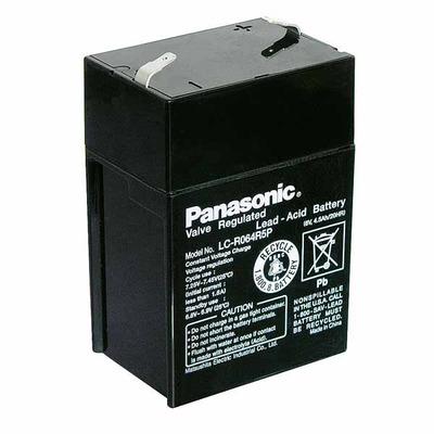 Аккумулятор свинцово-кислотный Батарея акк.свинц. 6В 4,5Ач Panasonic LC-R064R5P (фото)