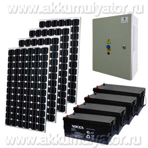 Солнечная электростанция Санфорс 800 (фото)