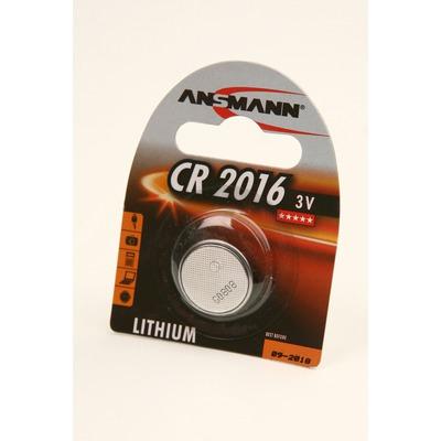 Батарейка дисковая литиевая ANSMANN 5020082 CR2016 BL1