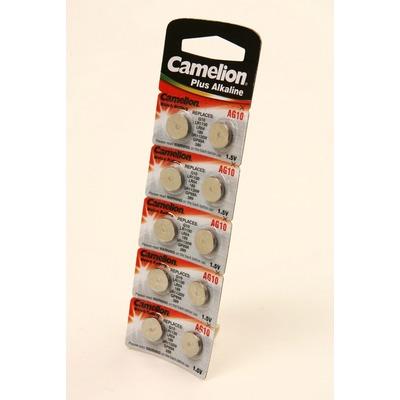 Батарейка алкалиновая часовая Camelion AG10-BP10 AG 10 389 BL10