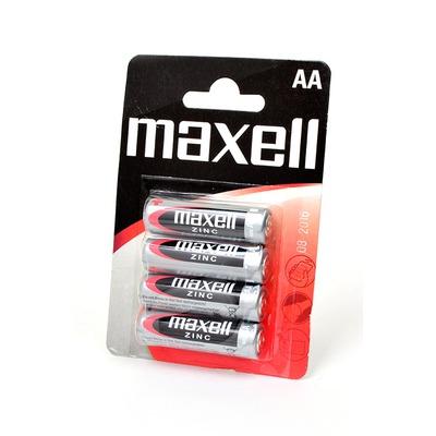 Батарейка бытовая стандартных типоразмеров MAXELL R6 BL4
