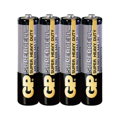 Батарейка бытовая стандартных типоразмеров GP 24S-2S4