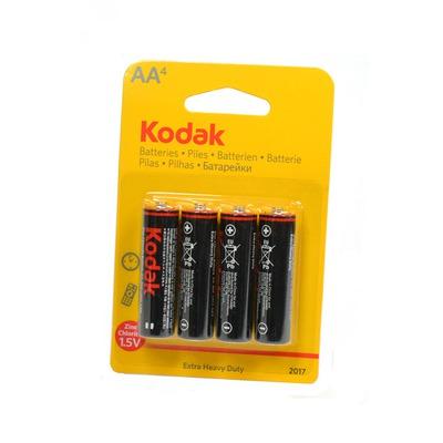 Батарейка бытовая стандартных типоразмеров Kodak Extra Heavy Duty R6 BL4