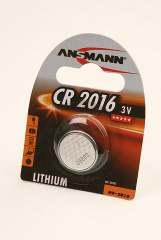 Батарейка Элемент питания ANSMANN CR2016 5020082 BL1