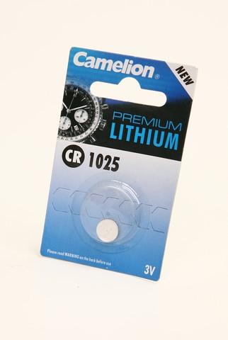 Батарейка Элемент питания Camelion CR1025 BL1