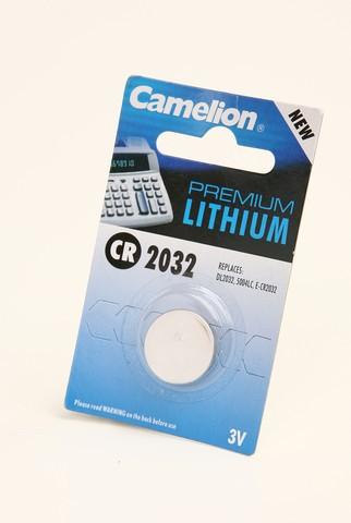 Батарейка Элемент питания Camelion CR2032 BL1