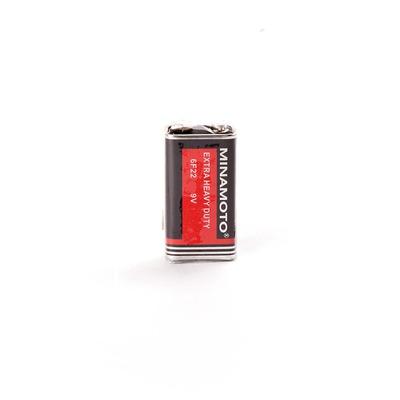 Батарейка бытовая стандартных типоразмеров MINAMOTO Extra Heavy Duty 6F22 SR1, в упак 10 шт