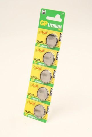 Батарейка Элемент питания GP CR2430 BL5