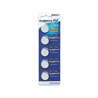 Батарейка PLEOMAX CR2016 BL5