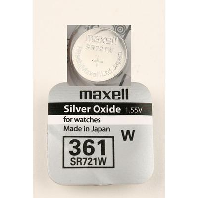 Батарейка серебряно-цинковая часовая MAXELL SR721W 361 S721H-SG11