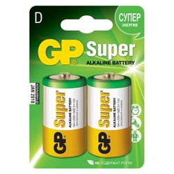 Батарейка бытовая стандартных типоразмеров GP 14A-OS2