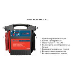 Пуско-зарядное устройство MP 757 Источник питания