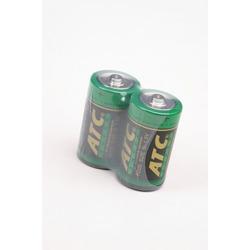 Батарейка бытовая стандартных типоразмеров ATC R20S SR2, в упак 24 шт