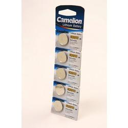 Батарейка дисковая литиевая Camelion CR2016-BP5 CR2016 BL5