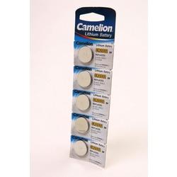 Батарейка дисковая литиевая Camelion CR2032-BP5 CR2032 BL5