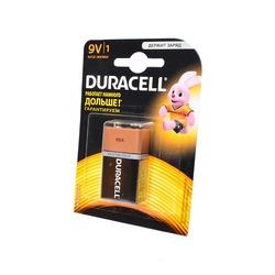 Батарейка бытовая стандартных типоразмеров DURACELL 6LF22 BL1