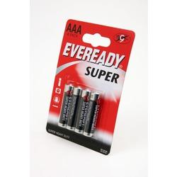 Батарейка бытовая стандартных типоразмеров EVEREADY R03 Super HD BL4