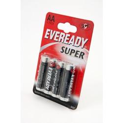 Батарейка бытовая стандартных типоразмеров EVEREADY R6 Super HD BL4