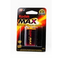 Батарейка бытовая стандартных типоразмеров Kodak Max 6LR61 BL1