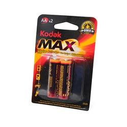 Батарейка бытовая стандартных типоразмеров Kodak Max LR6 BL2