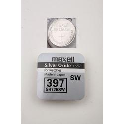 Батарейка серебряно-цинковая часовая MAXELL SR726SW 397
