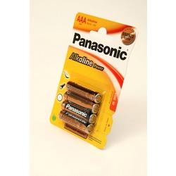 Батарейка бытовая стандартных типоразмеров Panasonic Alkaline Power LR03APB/4BP LR03 BL4