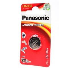 Батарейка дисковая литиевая Panasonic Lithium Power CR-2032EL/1B CR2032 BL1