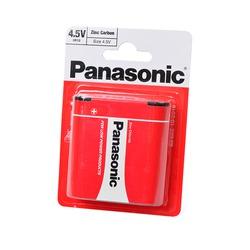 Батарейка бытовая стандартных типоразмеров Panasonic Zinc Carbon 3R12RZ/1BP 3R12 BL1