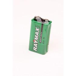 Батарейка бытовая стандартных типоразмеров RAYMAX 6F22 SR1, в упак 10 шт