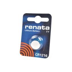 Батарейка дисковая литиевая RENATA CR1216 BL1