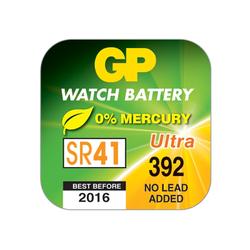 Батарейка серебряно-цинковая часовая GP 392E